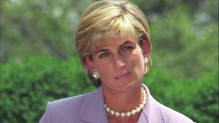 Prinses Diana in juni 1997 in Washington DC. Beeld Photo News