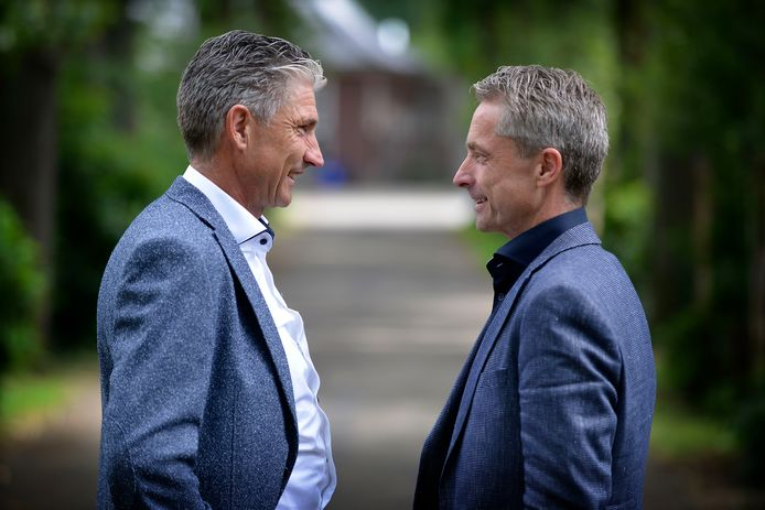 Wim (links) en Pedro Swier