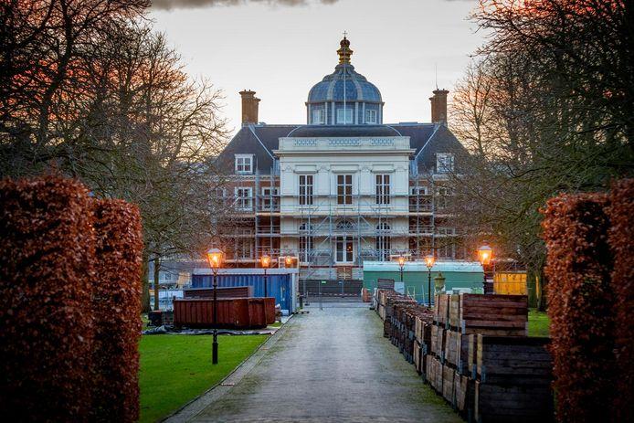 De verbouwing van paleis Huis ten Bosch ligt op schema.