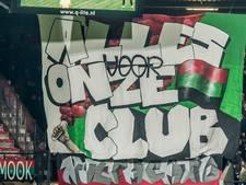 Massale steun van supporters NEC tijdens cruciaal duel tegen Excelsior