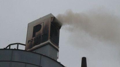 Brand in silo met houtafval bij ramen- en deurenbedrijf
