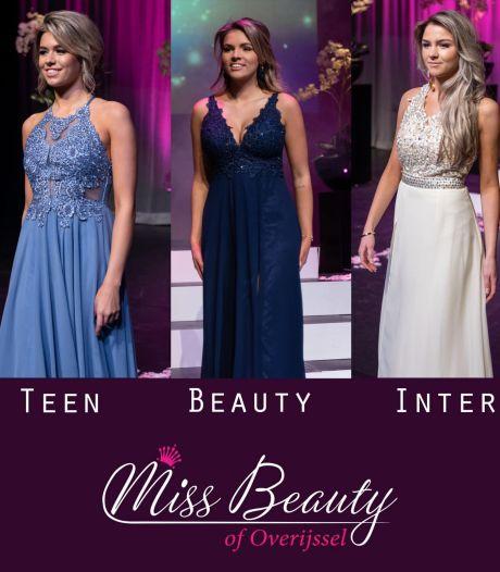 Deze drie Twentse meiden zijn Miss Beauty of Overijssel