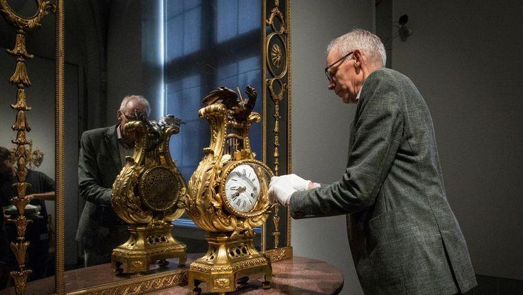 Paul van Duin in het Rijksmuseum Beeld Dingena Mol