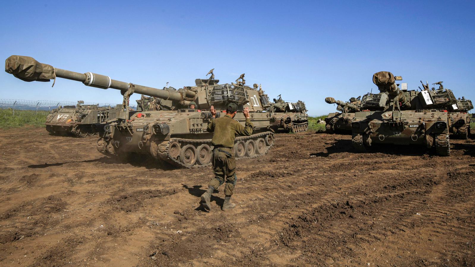 M109 houwitsers van het Israëlisch leger. (foto ter illustratie)