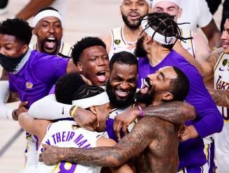 Evenaring van record én eerbetoon aan Bryant: LeBron James loodst LA Lakers naar 17de NBA-titel