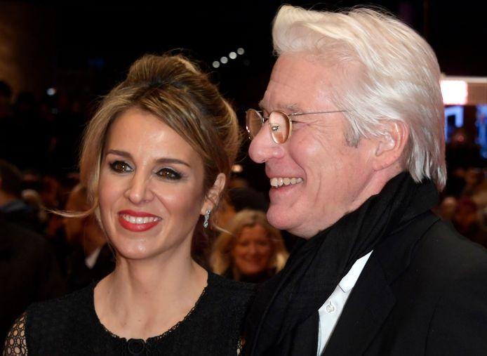 Richard Gere (70) en zijn vrouw Alejandra Silva (37)