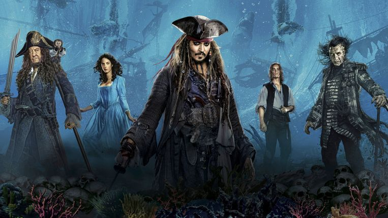'Pirates of the Caribbean: Salazar's Revenge' kwam uit in 2017 en is de vijfde film in de serie, met in de hoofdrol Johnny Depp als Jack Sparrow.