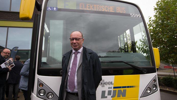 Directeur-generaal Roger Kesteloot.