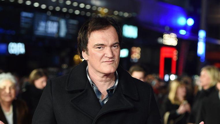 Quentin Tarantino op de première van The Hateful Eight. Beeld REUTERS
