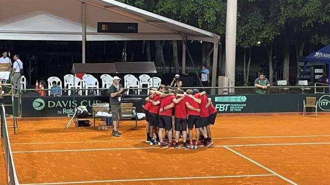 Exploit et remontada de la Belgique en Coupe Davis