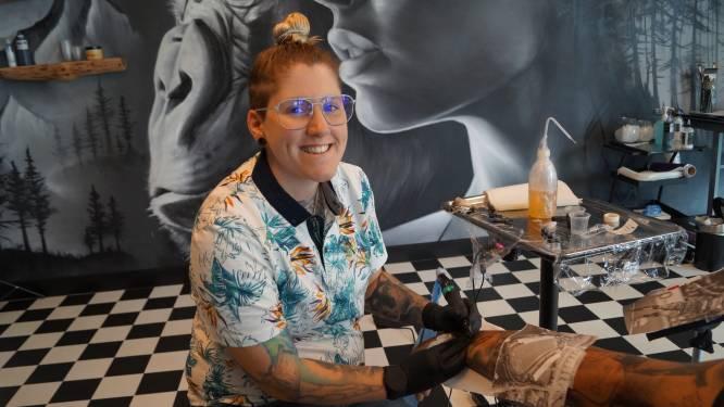 """Tattoo-artist en voormalig Ink Master-winnares Djoels verhuist van Deinze naar Egem: """"Ik miste het West-Vlaams"""""""