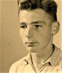 Jan Willem Driebergen als 16-jarige, kort voordat hij in het verzet belandde.