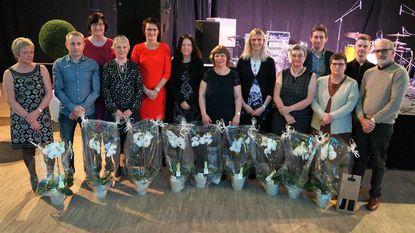 Gemeente zet personeel in de bloemetjes