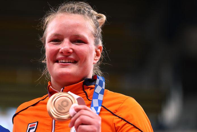 Brons: Sanne van Dijke (judo, 70kg, vrouwen)