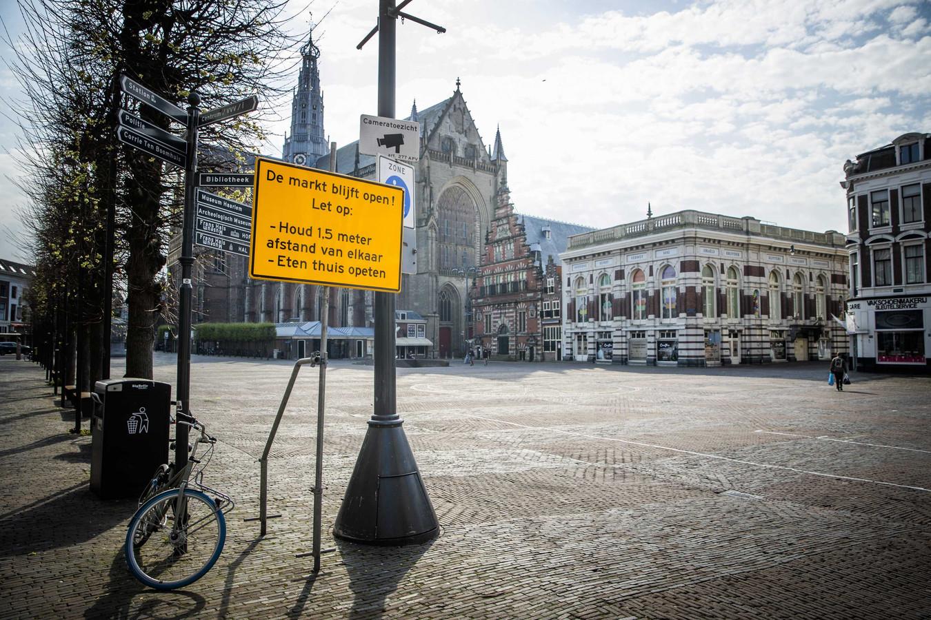 De Grote Markt in Haarlem.