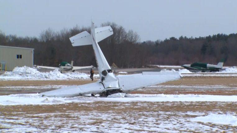 Instructeur en leerling komen om bij vliegtuigcrash
