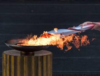 Olympisch vuur in China aangekomen voor winterspelen begin volgend jaar