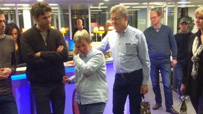 """Le départ de Marie-France Muschang lors du """"plan Evolve"""" de RTL en mars dernier, après 33 ans passés au sein de RTL-TVI, avait ému de nombreux téléspectateurs de la chaîne privée."""