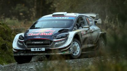 Ogier wint Rally van Wales, Neuville behoudt WK-leiding