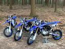 De gestolen motoren van de kinderen, van het merk Yamaha yz 85cc.