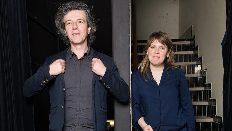 Corine Meijers en Bruno Felix: 'Ik vind dromen over een mooi verhaal leuk, maar een verhaal bestaat pas echt als je het kunt delen met een publiek' Beeld Ivo van der Bent