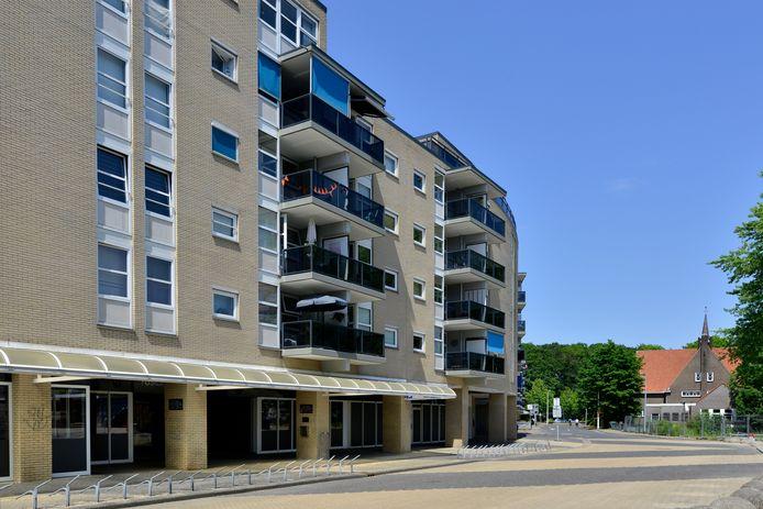 Appartementencomplex De Hagenborgh in Almelo voldoet niet aan de brandveiligheidseisen.