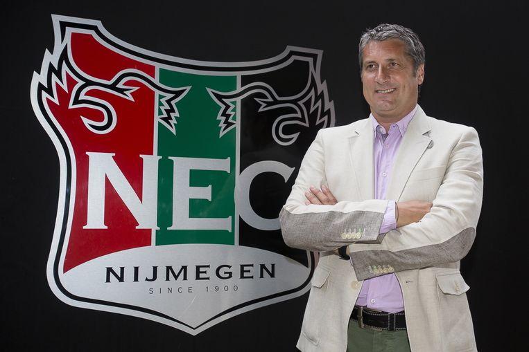 Ruud Brood, de nieuwe trainer van NEC. Beeld pro shots