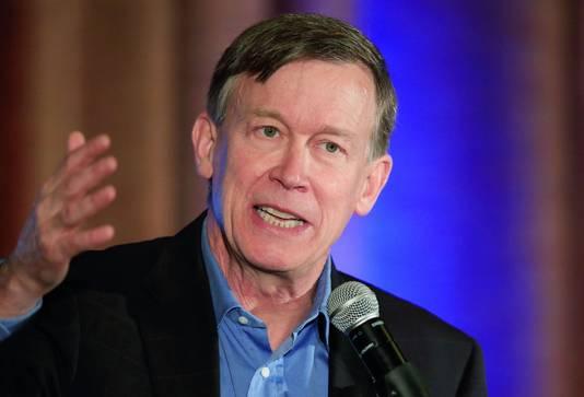 Gouverneur John Hickenlooper van Colorado werd getipt als running mate van Clinton in 2016.