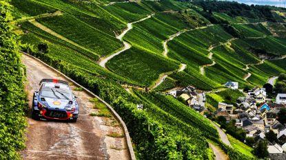 Neuville blijft derde in Rally van Duitsland, Tänak nog steeds op kop
