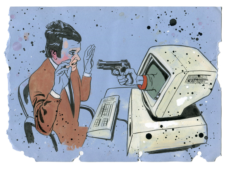 «Elk uur, elke minuut proberen spionnen bij overheidsdiensten binnen te raken. En af en toe glipt er eentje door» Beeld Martyn Overweel