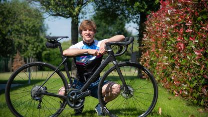 Jonathan (28) fietst zaterdag 250 kilometer voor Kom op tegen Kanker