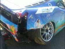 Boonen komt heelhuids uit crash met Ferrari