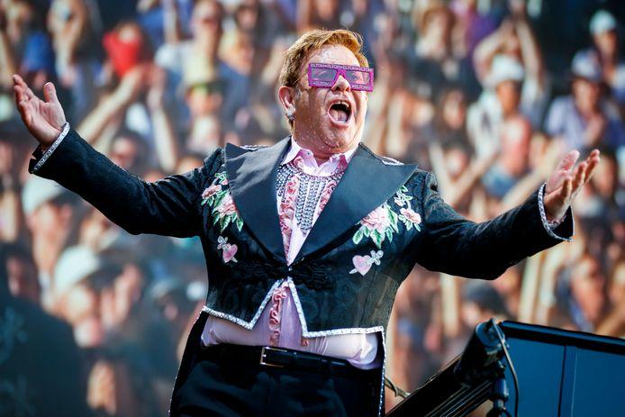 Elton John komt op 8 september 2020 naar het Antwerpse Sportpaleis.