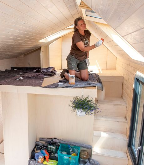 Zeecontainers en stacaravans zijn taboe in tiny house-wijkje in Goes