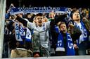 De dolenthousiaste fans van Finland dinsdagavond in Turku.