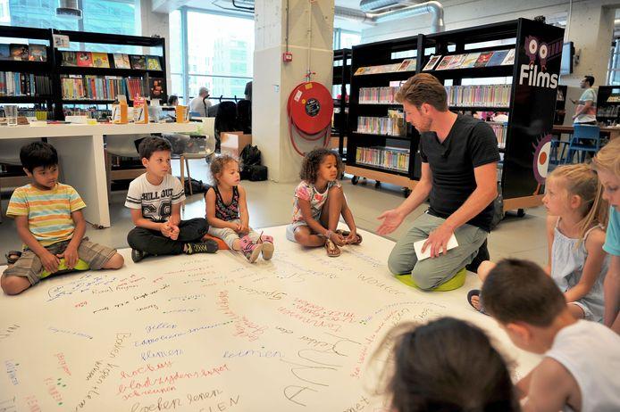 Kinderen denken mee over de toekomst van de Bibliotheek Eindhoven