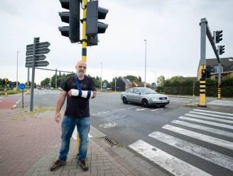 """Na twee ongevallen in twee jaar op zelfde plaats is Lierse fietser het beu: """"Maak dit kruispunt toch conflictvrij"""""""