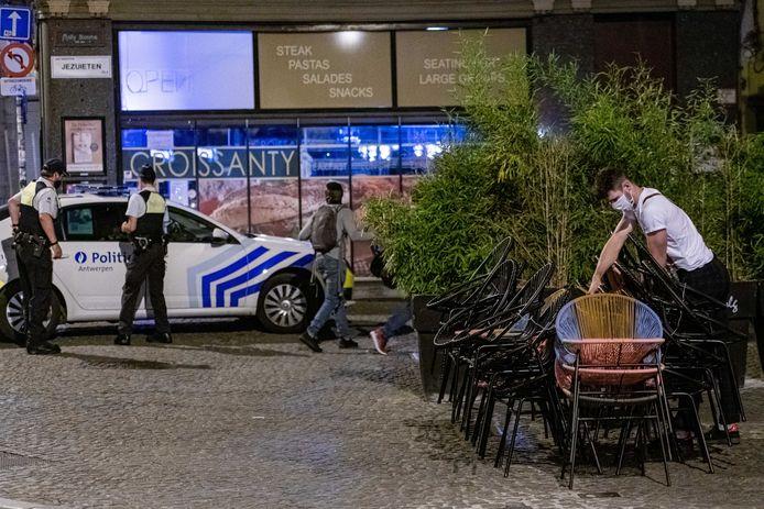 Illustration: à Anvers, on est déjà habitués à la mesure