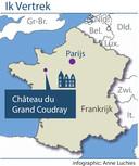 Le Chateau du Grand Coudray, in Villaines-la-Juhel, ligt in in de Loire.