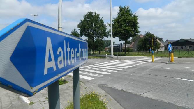 Tweede helft augustus werken aan Knokkeweg (N44) ter hoogte van Aalter-Brug