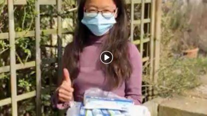 Zorgverleners kunnen rekenen op 80 mondmaskers uit China, met dank aan Xuan Liu