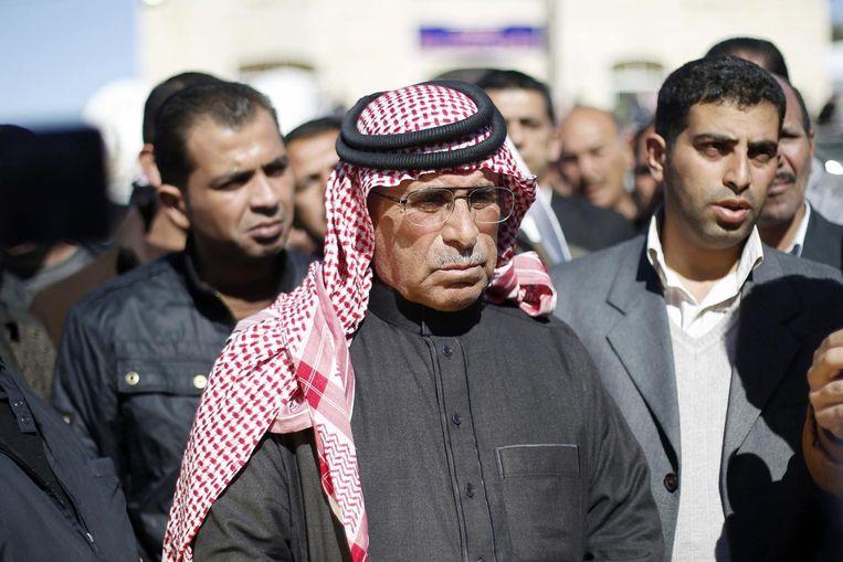 Saif al-Kasasiba, de vader van de levend verbrande piloot. Beeld REUTERS