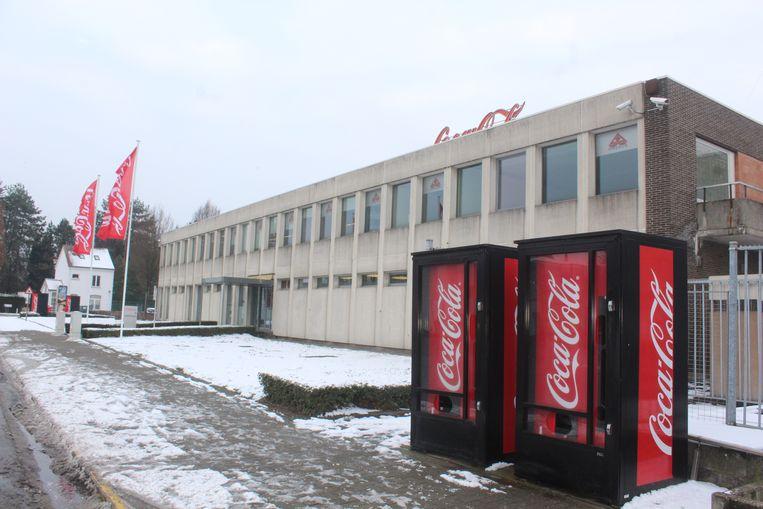 Het Coca-Cola-distributiecentrum in Hasselt. Beeld Toon Royackers
