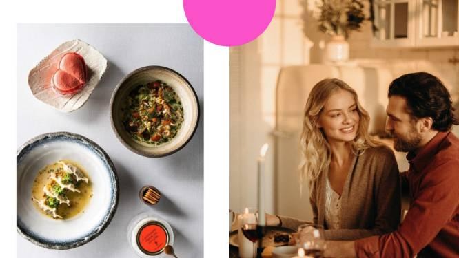 Liefde gaat door de maag: deze restaurants brengen romantiek bij je thuis voor valentijn