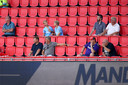 Er was publiek toegestaan in het Philips Stadion tijdens het oefenduel met Vitesse.