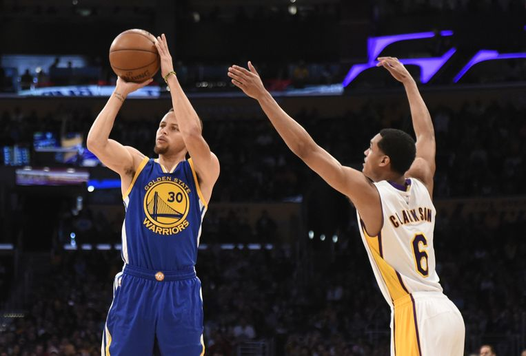 Curry blijft verbazen.