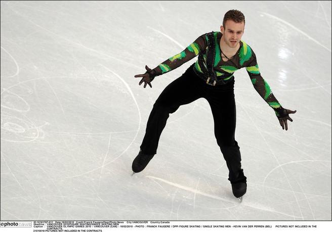 Foto van Kevin van der Perren op de Winterspelen