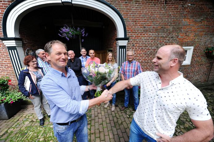 Sander Peulken uit Fleringen, maar geboren en getogen in Geesteren, is het 70e lid van de ondernemersvereniging Mans.