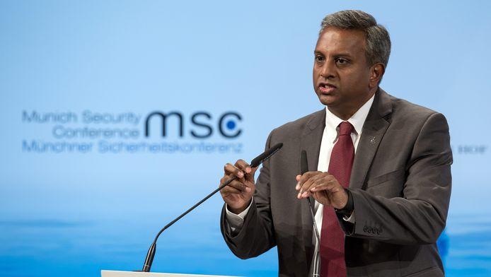 Salil Shetty, hoofd van Amnesty International.