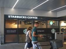 Starbucks station Tilburg vrijdag open